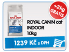 ROYAL CANIN cat INDOOR 10kg - GRATIS 2kg / 1.239k�