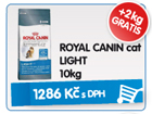 ROYAL CANIN cat LIGHT 10kg - GRATIS 2kg / 1.286k�