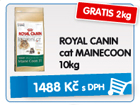 ROYAL CANIN cat MAINECOON 10kg - GRATIS 2kg / 1.488k�