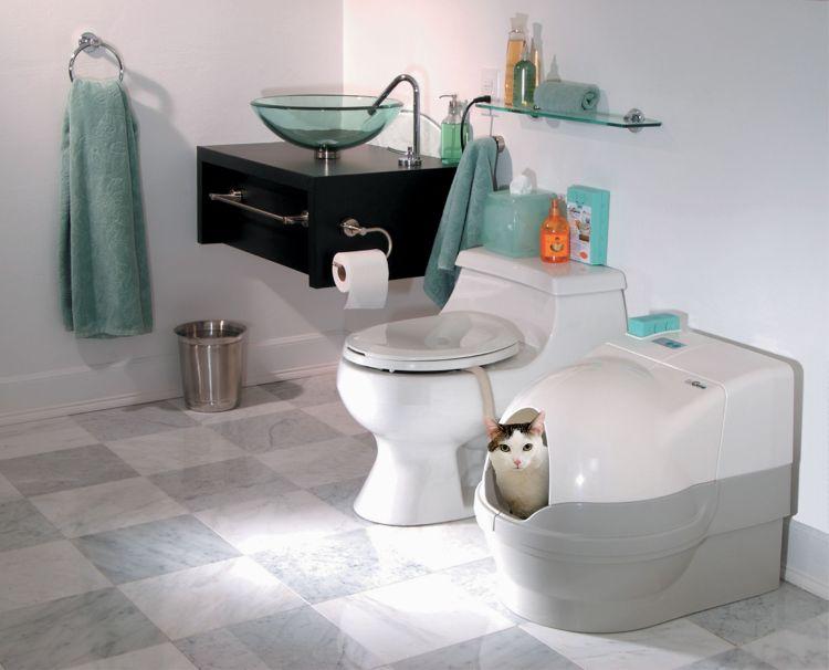 Novinka: samočisticí toaleta pro kočky