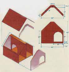 Stavíme psí boudu