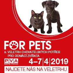Veletrh FOR PETS vás vtáhne do života mazlíčků