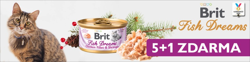 Brit Care Fish dreams 5 + 1 zdarma