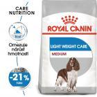 Royal Canin Medium Light Weight Care - dietní granule pro střední psy