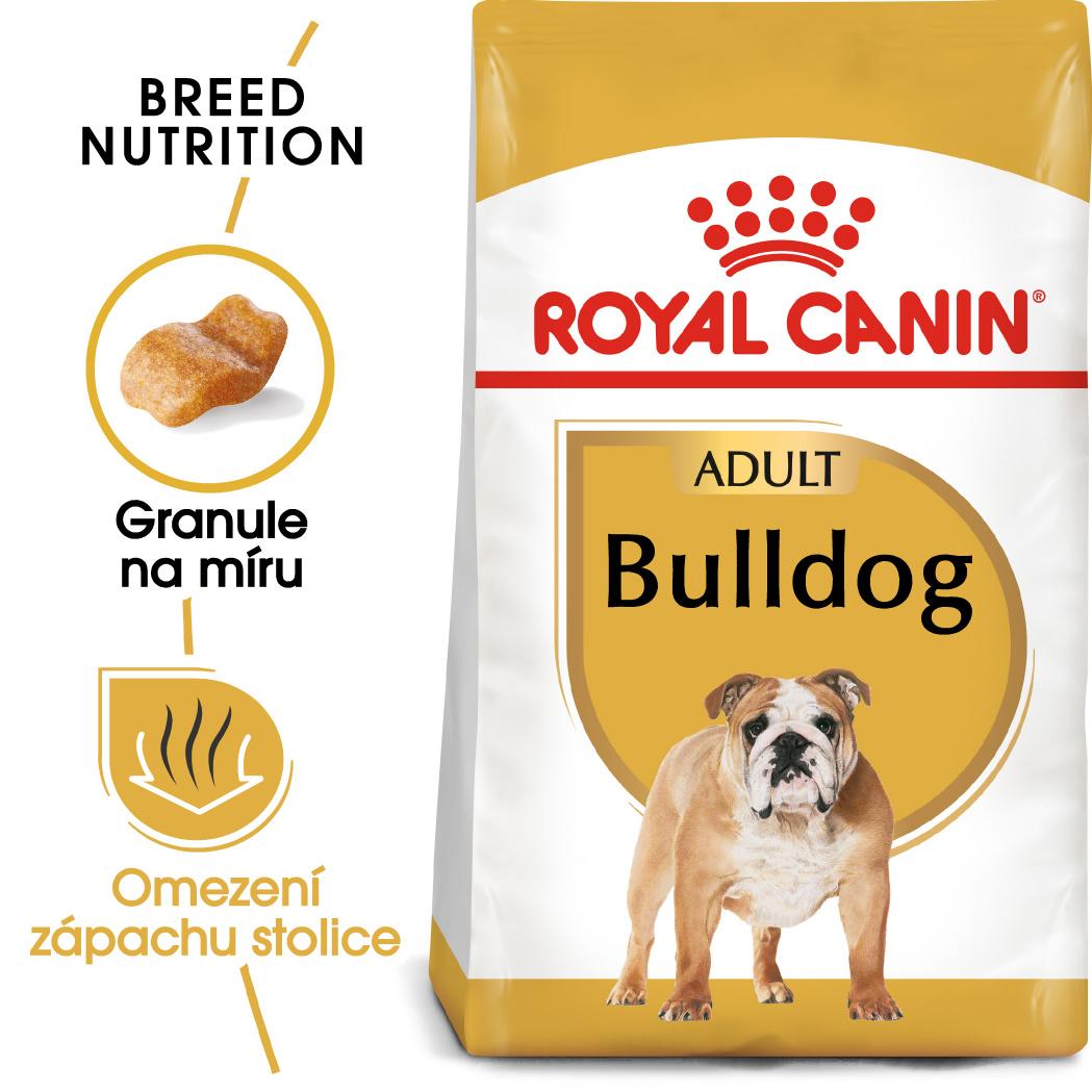 Royal Canin Bulldog Adult - granule pro dospělého buldoka - 3kg