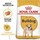 Royal Canin Bulldog Adult - granule pro dospělého buldoka