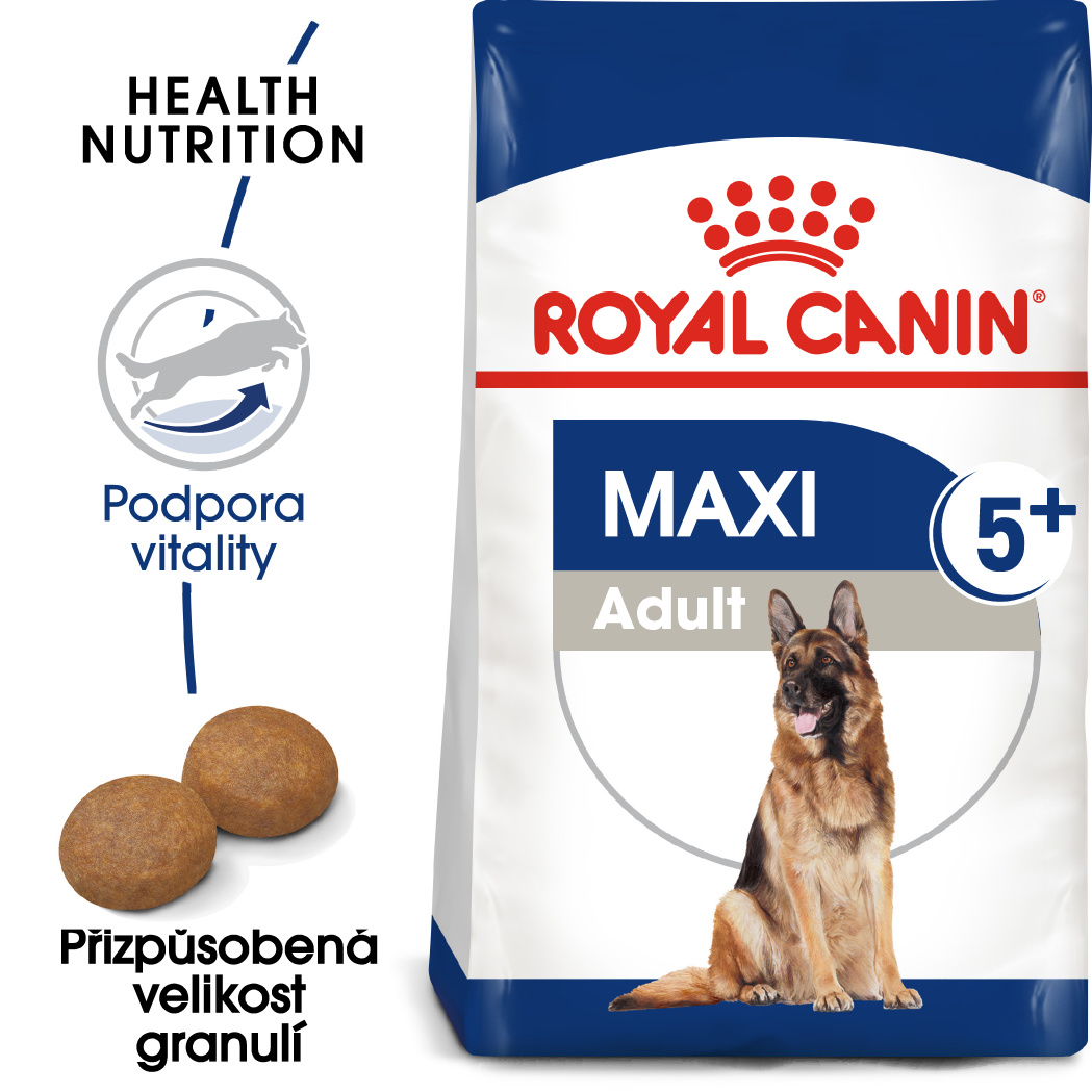 Royal Canin Maxi Adult 5+ - granule pro dospělé stárnoucí velké psy - 15kg
