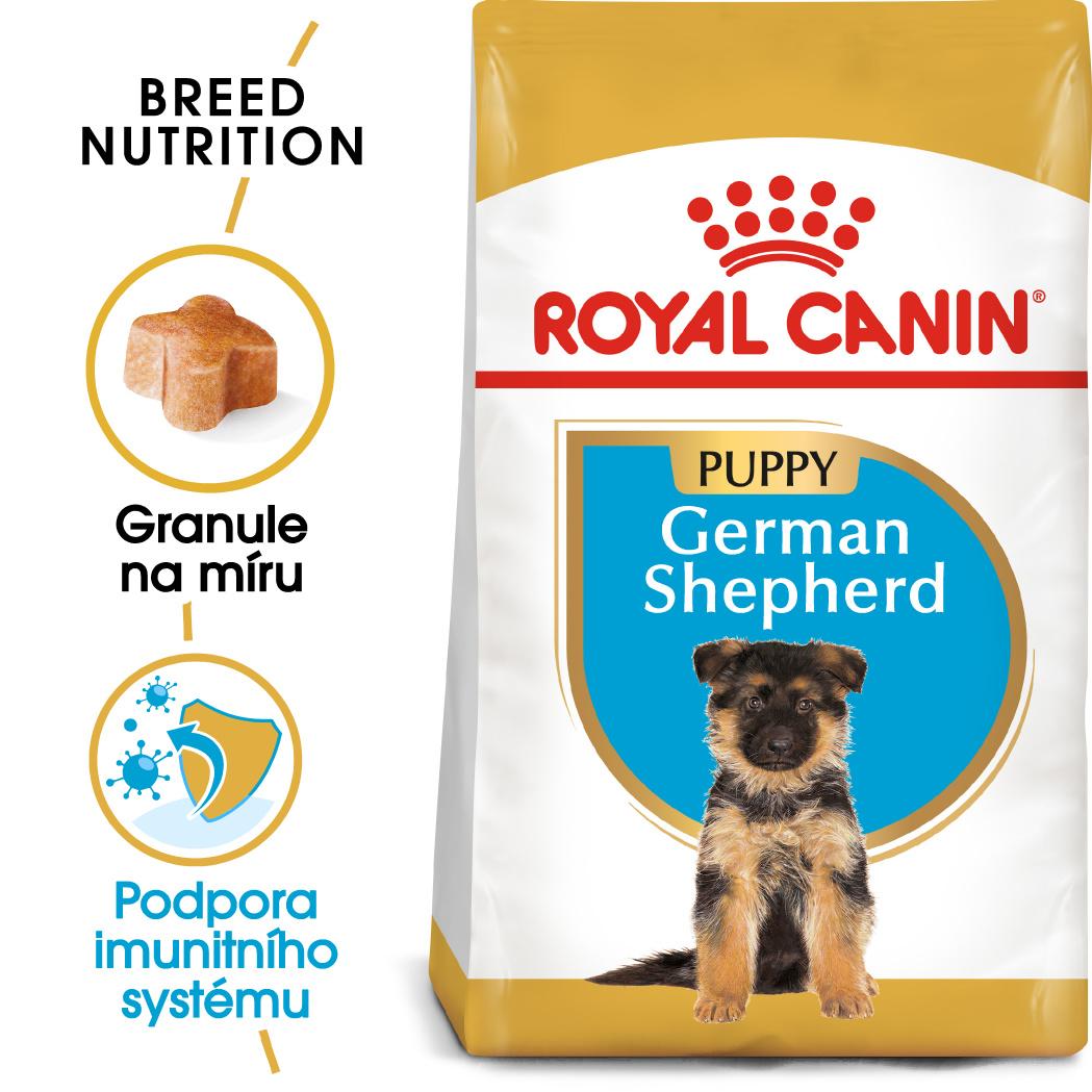 Royal Canin German Shepherd Puppy - granule pro štěně německého ovčáka - 12kg