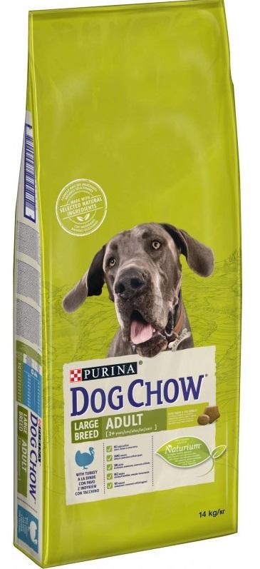 PURINA dog chow ADULT LARGE krůta - 2 x 14kg