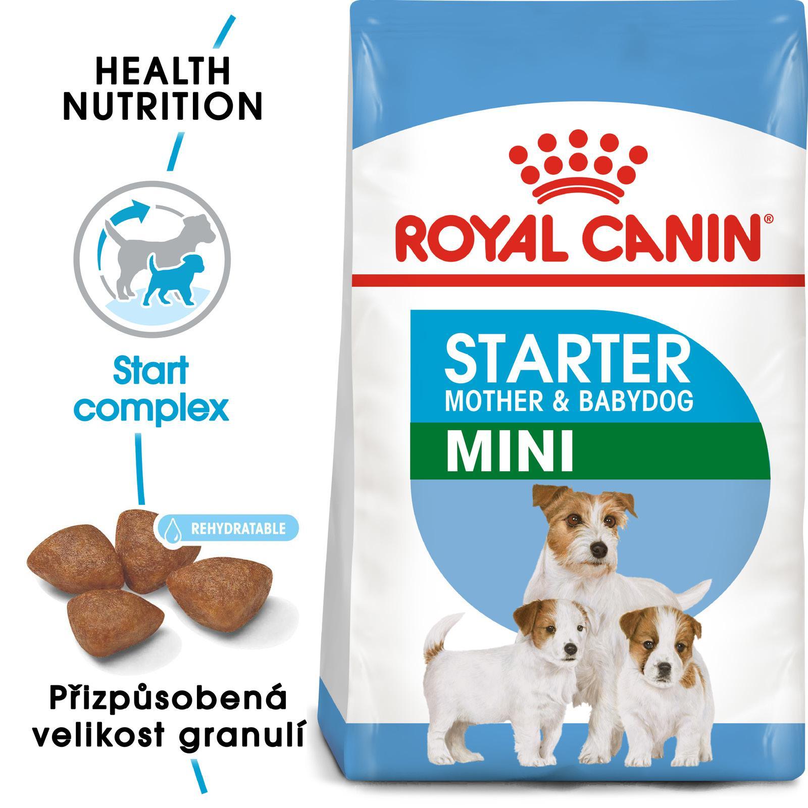 Royal Canin Mini Starter - granule pro březí nebo kojící feny a štěňata - 8,5kg