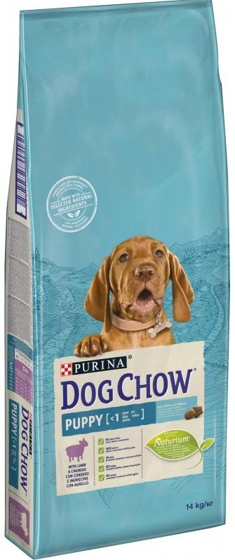 PURINA dog chow PUPPY jehněčí - 14kg