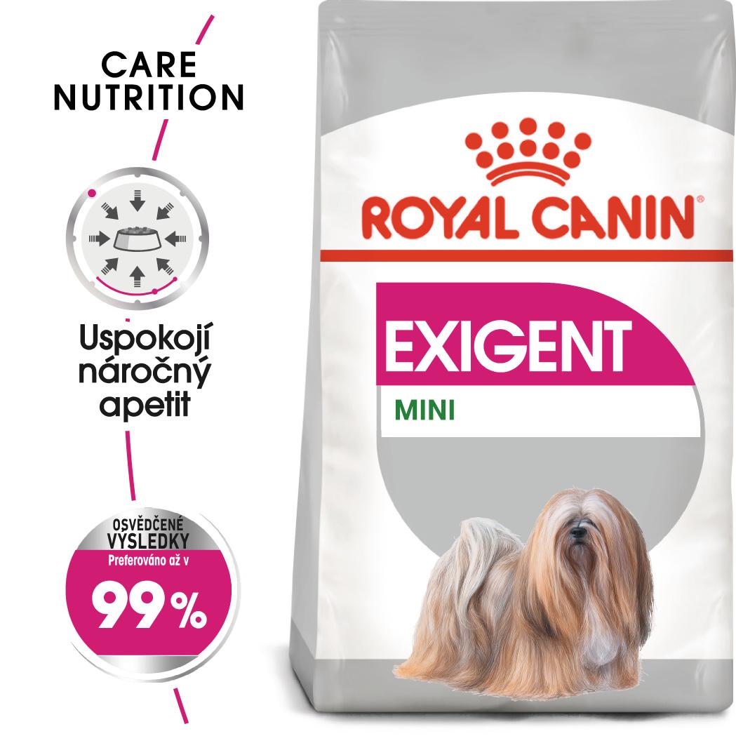 Royal Canin Mini Exigent - granule pro mlsné malé psy - 1kg