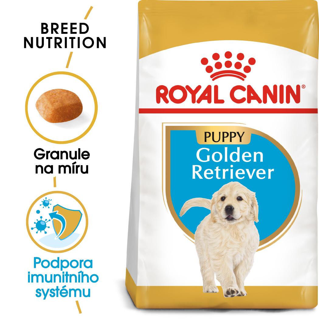 Royal Canin Golden Retriever Puppy - granule pro štěně zlatého retrívra - 12kg