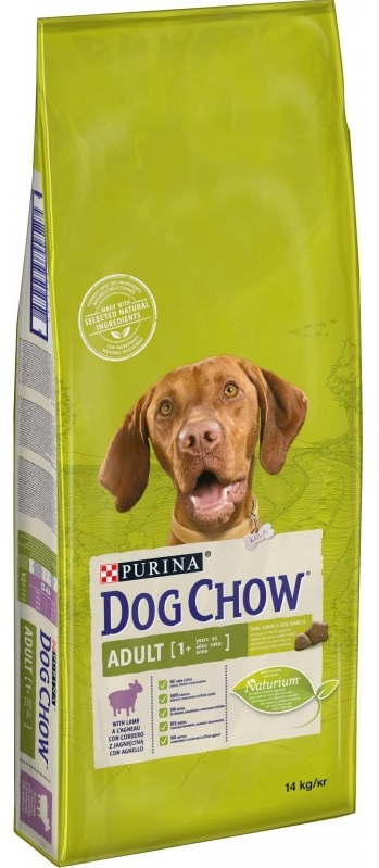 PURINA dog chow ADULT Lamb & Rice - 14kg