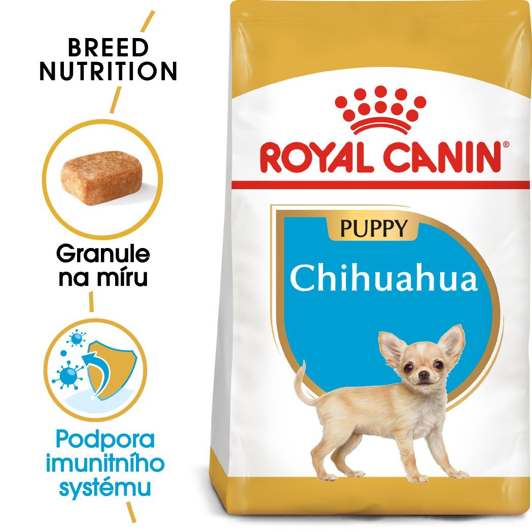 Royal Canin Chihuahua Puppy - granule pro štěně čivavy - 500g