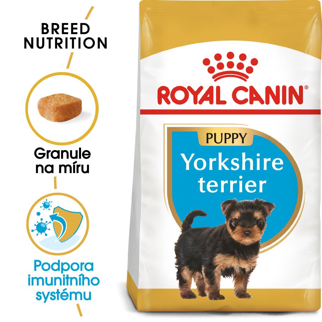 Royal Canin Yorkshire Puppy - granule pro štěně jorkšíra - 500g