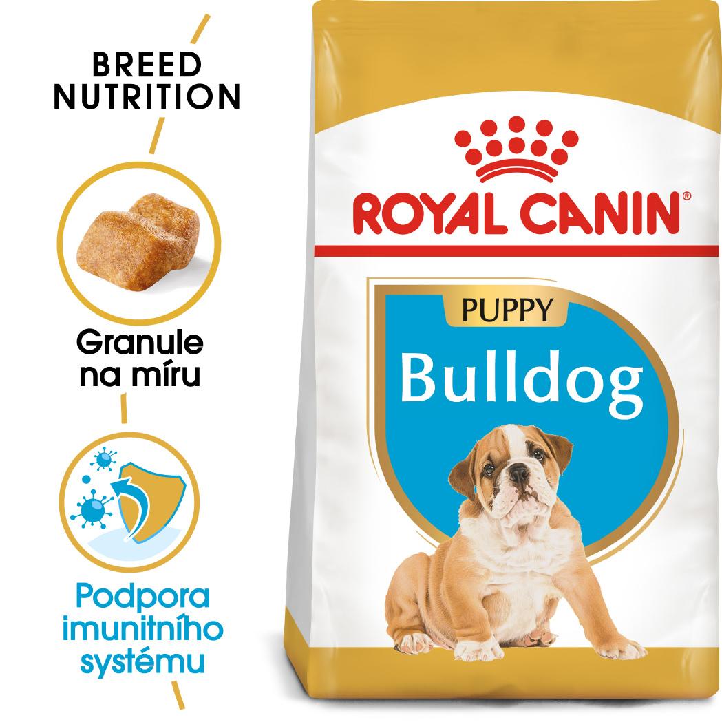 Fotografie Royal Canin Bulldog Puppy - granule pro štěně buldoka - 12kg Royal Canin