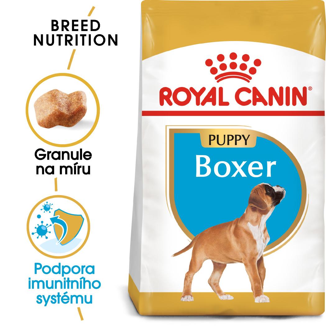 Royal Canin Boxer Puppy - granule pro štěně boxera - 12kg