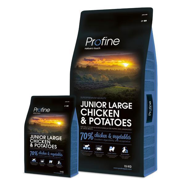 PROFINE JUNIOR LARGE Chicken/Potatoes - 15kg