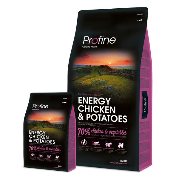 PROFINE ENERGY Chicken/Potatoes - 15kg