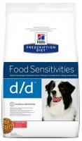 Hills Canine  d/d salmon/rice (dieta)