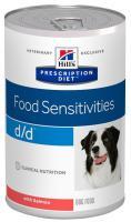 Hills Canine  d/d salmon/rice (dieta) konzerva