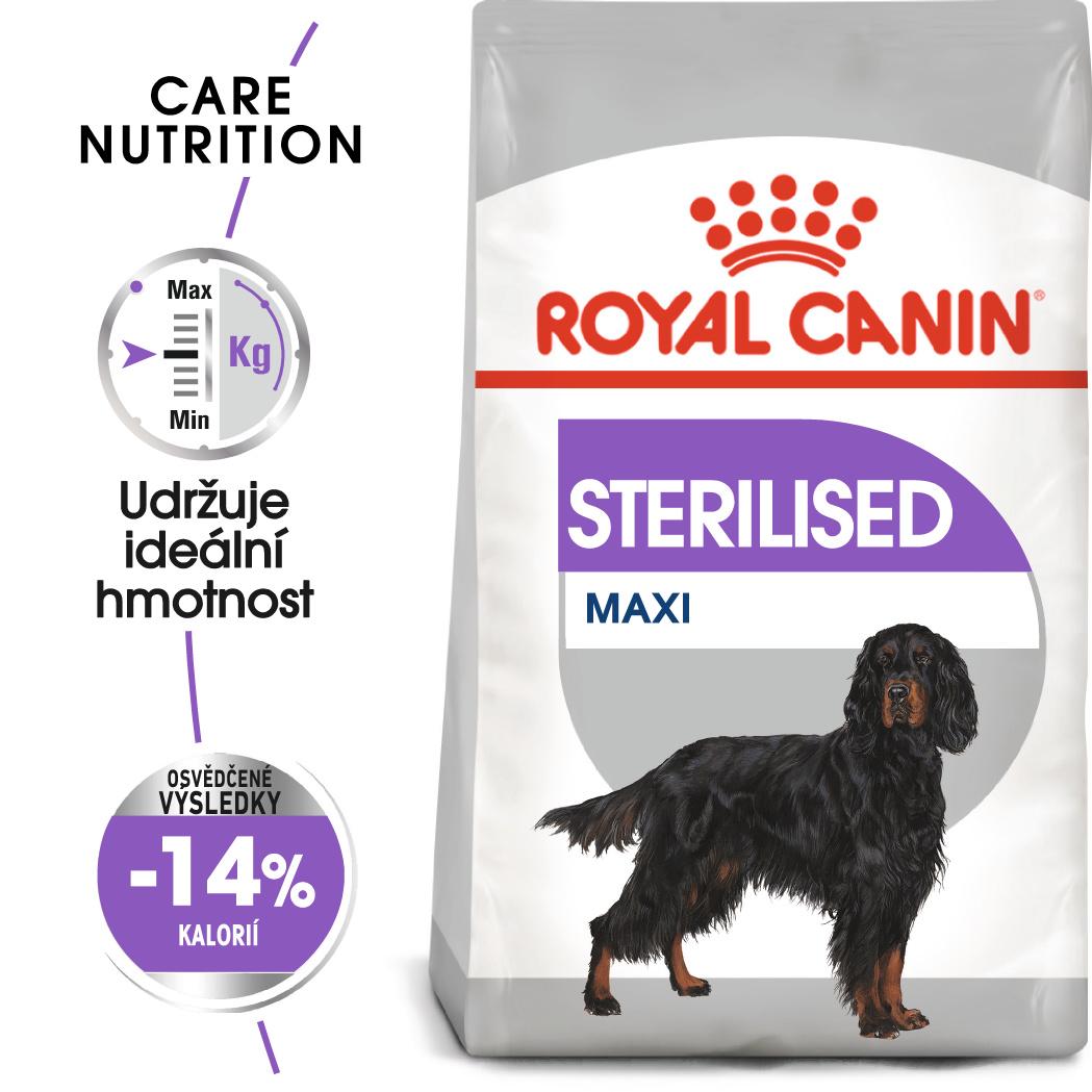 Royal Canin Maxi Sterilised - granule pro kastrované velké psy - 3kg