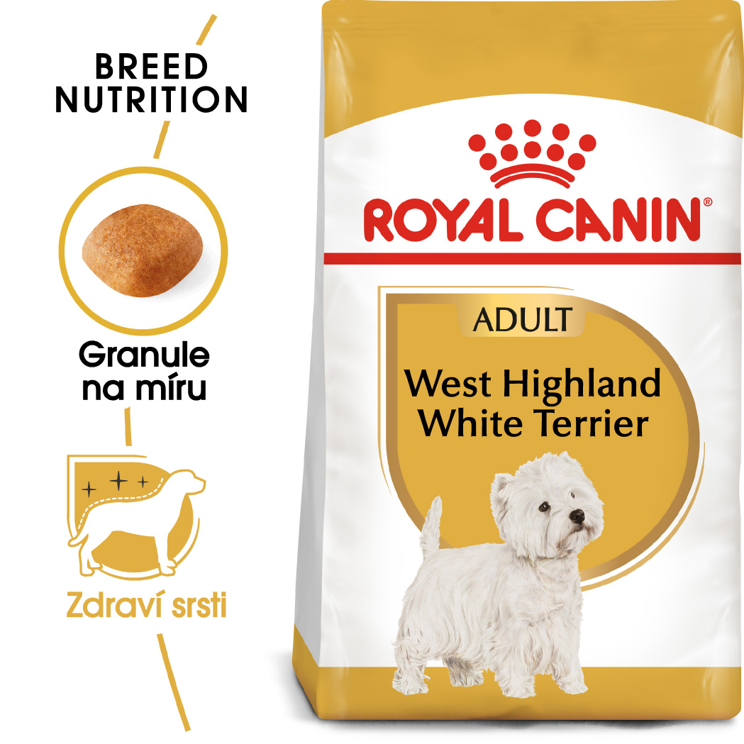 Royal Canin Westie Adult - granule pro dospělého westíka - 500g
