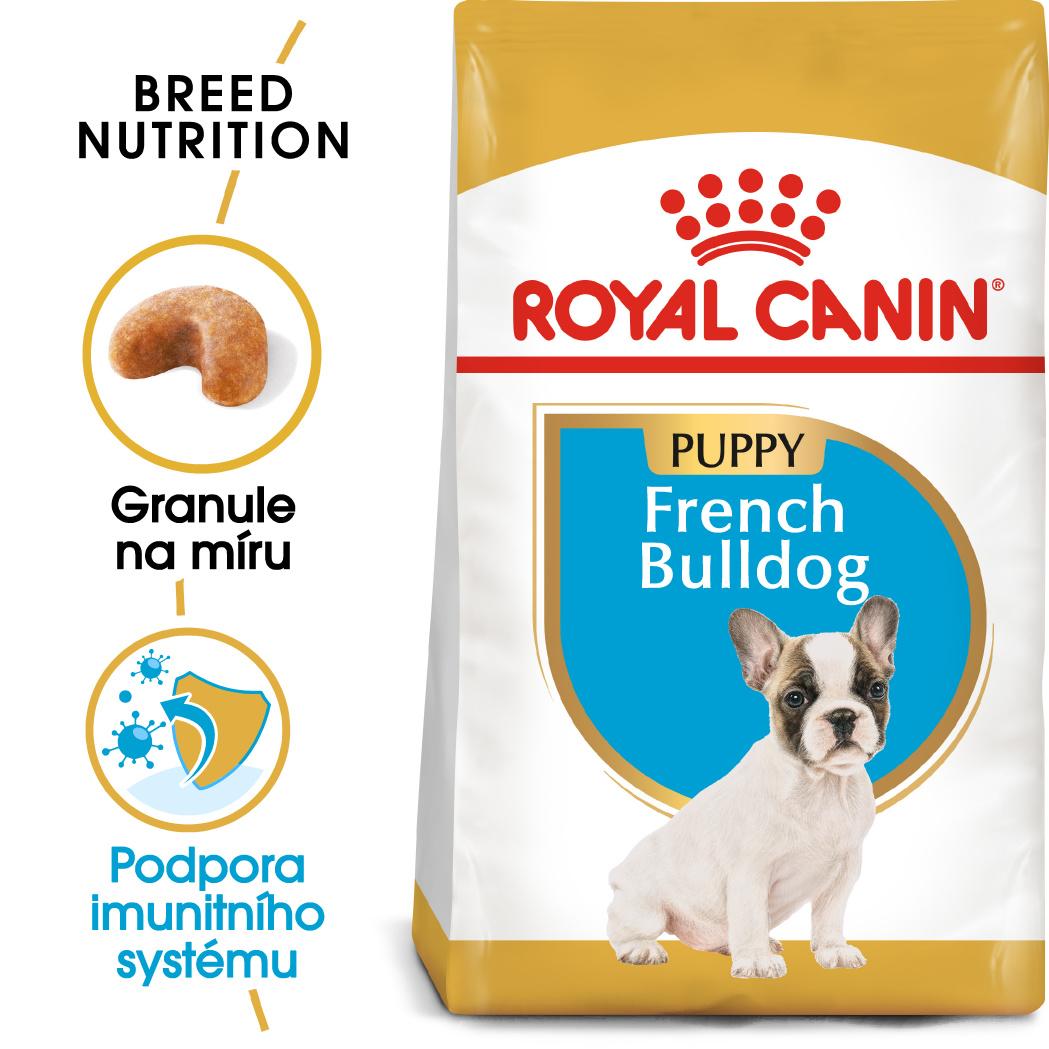 Royal Canin French Bulldog Puppy - granule pro štěně francouzského buldočka - 3kg