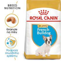 Royal Canin French Bulldog Puppy - granule pro štěně francouzského buldočka