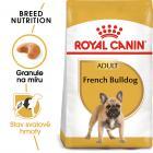 Royal Canin French Bulldog Adult - granule pro dospělého francouzského buldočka
