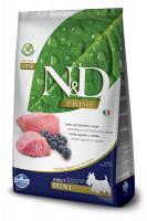 N&D dog GF ADULT MINI LAMB / BLUEBERRY
