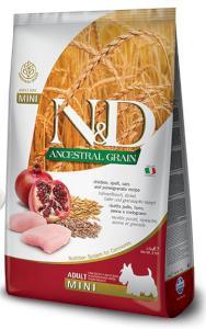 N&D dog LG ADULT MINI CHICKEN/POMEGRANATE