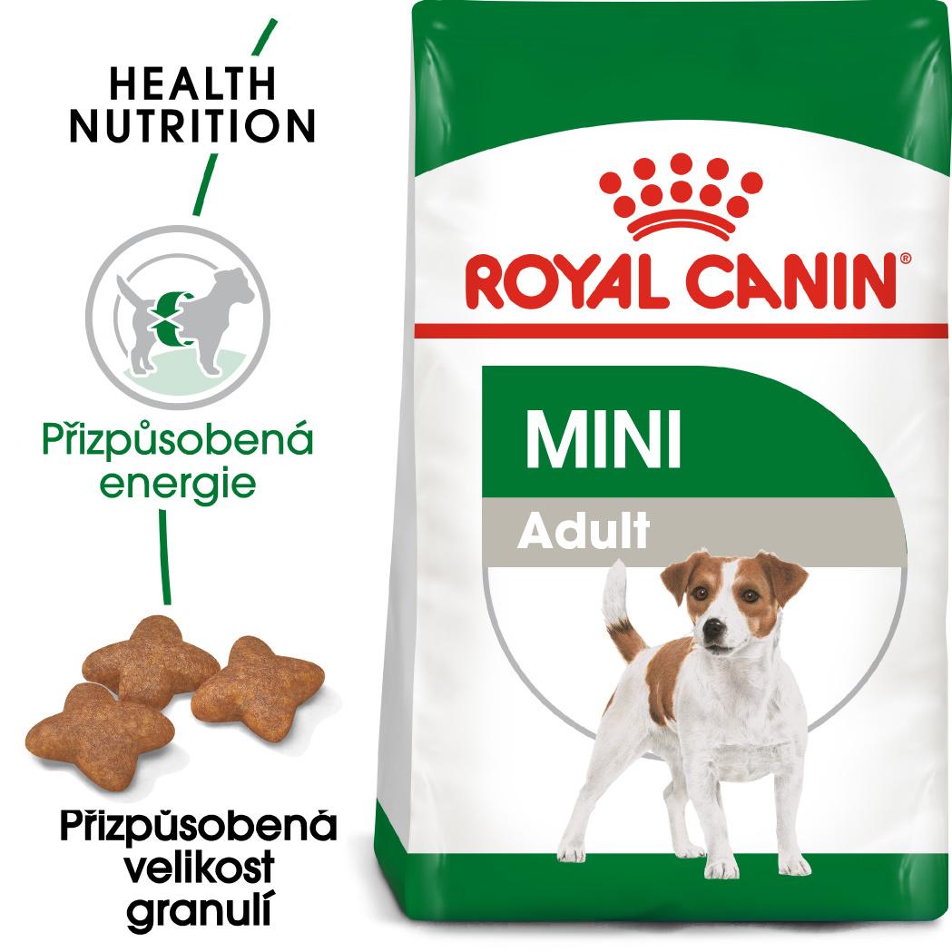 Royal Canin Mini Adult - granule pro dospělé malé psy - 800g