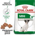 Royal Canin Mini Adult 8+ - granule pro stárnoucí malé psy