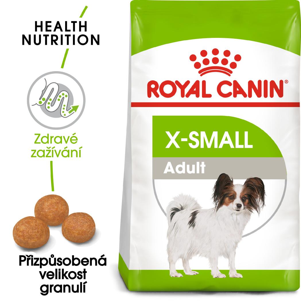 Royal Canin  X-Small Adult - granule pro dospělé trpasličí psy - 1,5kg