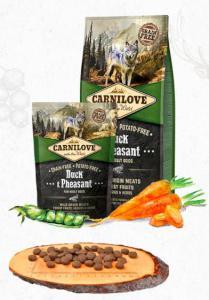 CARNILOVE ADULT DUCK/pheasant