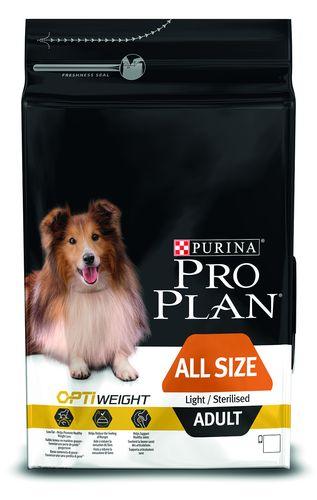 Purina PRO PLAN Dog All Size Adult Ligh & Sterilised - 14kg
