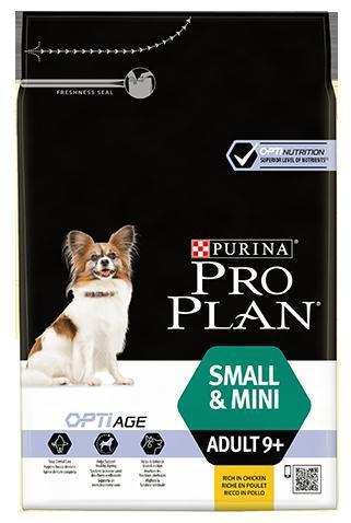Purina PRO PLAN Dog Adult 9+ Small & Mini - 7kg