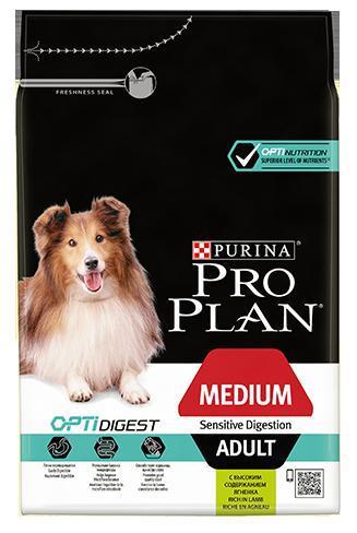Purina Pro Plan Dog Medium Adult Sensitive Digestion - 14kg