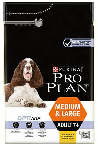 Purina Pro Plan Dog Medium & Large Adult 7+ - 14kg