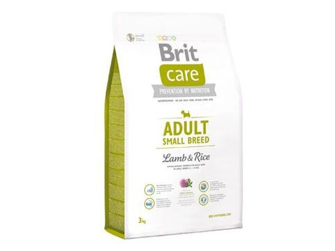 Brit Care dog Adult Small Breed Lamb & Rice - 7,5kg