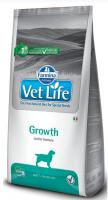 VET LIFE dog GROWTH natural