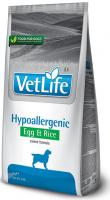 VET LIFE dog HYPO EGG & RICE natural