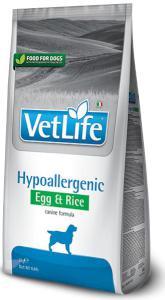 VET LIFE dog HYPO EGG & RICE natural