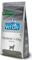 VET LIFE dog NEUTERED 1-10kg natural