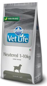 VET LIFE dog NEUTERED 1-10kg natural
