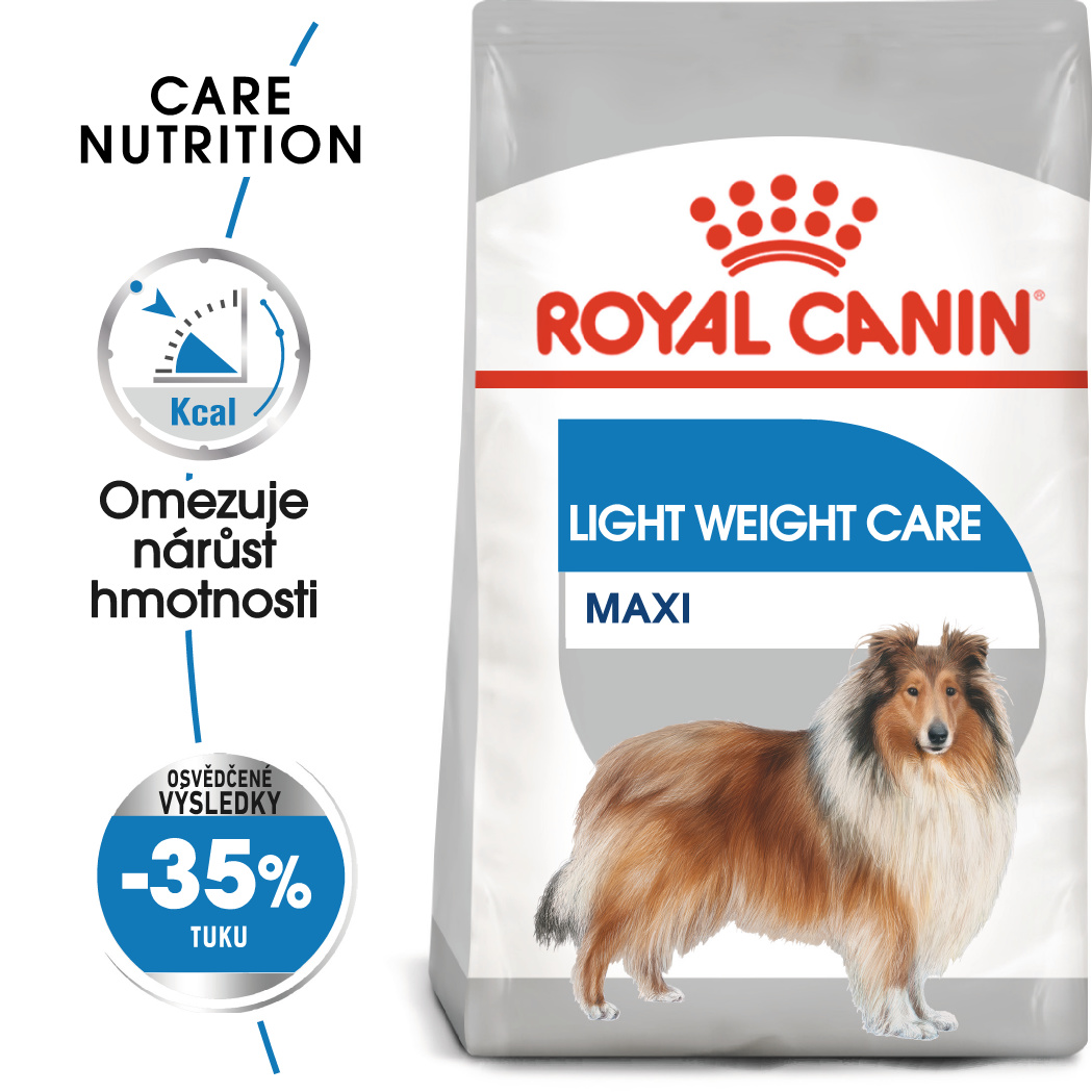 Royal Canin Maxi Light Weight Care - dietní granule pro velké psy - 3kg