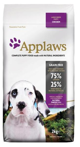 APPLAWS dog PUPPY LARGE breed chicken - 2kg