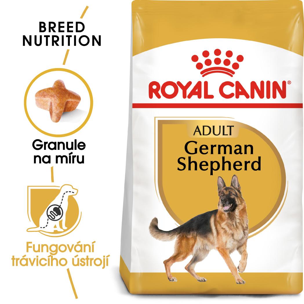 Royal Canin German Shepherd Adult - granule pro dospělého německého ovčáka - 11kg
